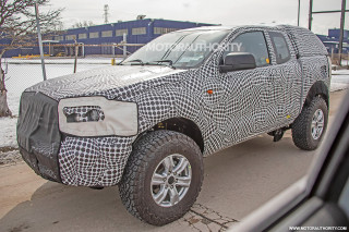 2021 Ford Bronco test mule spy shots - Image via S. Baldauf/SB-Medien