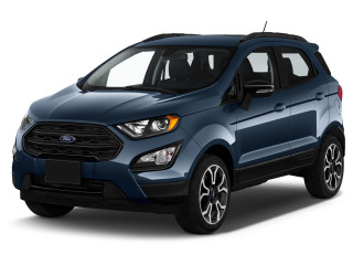 2021 Ford Ecosport SES 4WD Angular Front Exterior View
