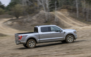 2021 Ford F-150 joins Ram 1500 with Top Safety Pick