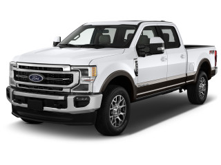 2021 Ford Super Duty F-250 LARIAT 4WD Crew Cab 6.75' Box Angular Front Exterior View