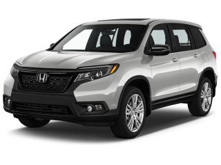 2021 Honda Passport EX-L AWD Angular Front Exterior View