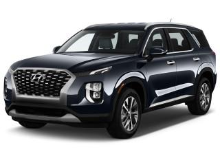 2021 Hyundai Palisade SEL FWD Angular Front Exterior View