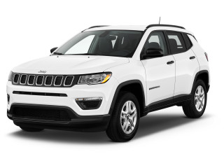2021 Jeep Compass Sport FWD Angular Front Exterior View
