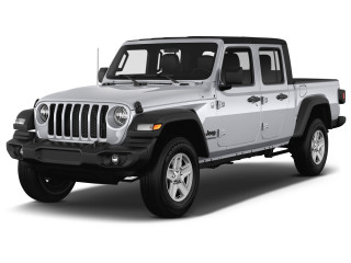 2021 Jeep Gladiator Sport S 4x4 Angular Front Exterior View