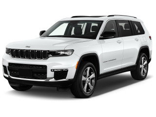 2021 Jeep Grand Cherokee Limited 4x4 Angular Front Exterior View