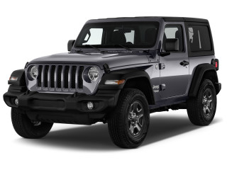 2021 Jeep Wrangler Sport 4x4 Angular Front Exterior View