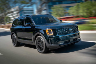 2021 Kia Telluride Nightfall Edition three-row crossover takes a ride to the dark side