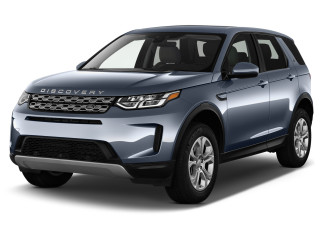2021 Land Rover Discovery Sport S 4WD Angular Front Exterior View