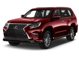2021 Lexus GX GX 460 4WD Angular Front Exterior View