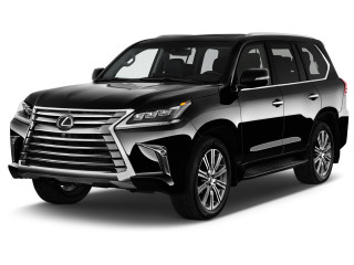 2021 Lexus LX LX 570 Two Row 4WD Angular Front Exterior View