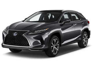 2021 Lexus RX RX 450hL AWD Angular Front Exterior View