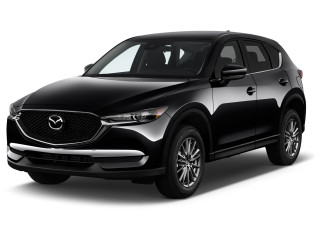 2021 Mazda CX-5 Sport FWD Angular Front Exterior View