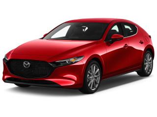 2021 Mazda MAZDA3 2.5 S Auto FWD Angular Front Exterior View