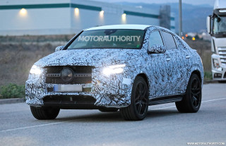 2021 Mercedes-AMG GLE53 Coupe spy shots