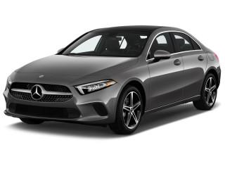 2021 Mercedes-Benz A Class A 220 Sedan Angular Front Exterior View