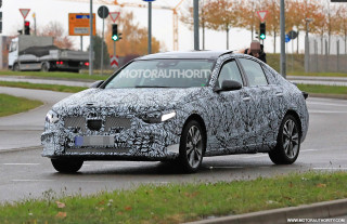 2021 Mercedes-Benz C-Class spy shots