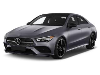 2021 Mercedes-Benz CLA Class CLA 250 Coupe Angular Front Exterior View