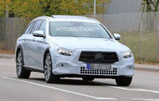 2021 Mercedes-Benz E-Class All-Terrain spy shots