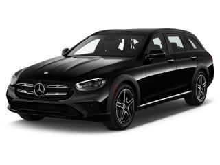 2021 Mercedes-Benz E Class E 450 4MATIC All-Terrain Wagon Angular Front Exterior View