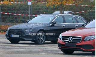 2021 Mercedes-Benz E-Class Wagon spy shots