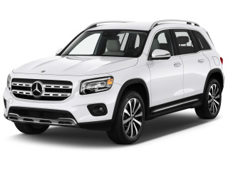 2021 Mercedes-Benz GLB Class GLB 250 SUV Angular Front Exterior View