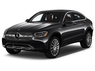 2021 Mercedes-Benz GLC Class GLC 300 4MATIC Coupe Angular Front Exterior View