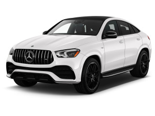2021 Mercedes-Benz GLE Class AMG GLE 53 4MATIC SUV Angular Front Exterior View