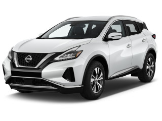 2021 Nissan Murano FWD SV Angular Front Exterior View