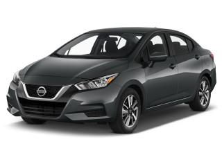 2021 Nissan Versa SV CVT Angular Front Exterior View