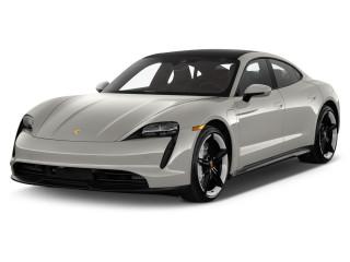 2021 Porsche Taycan 4S AWD Angular Front Exterior View