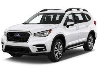 2021 Subaru Ascent Limited 7-Passenger Angular Front Exterior View