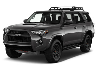 2021 Toyota 4Runner Angular Front Exterior View