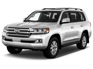 2021 Toyota Land Cruiser 4WD (Natl) Angular Front Exterior View