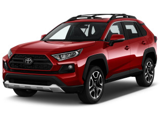 2021 Toyota RAV4 Adventure AWD (Natl) Angular Front Exterior View