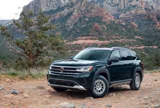 2021 Volkswagen Atlas Basecamp off-road add-ons push families further into the wilderness
