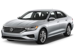 2021 Volkswagen Passat 2.0T SE Auto Angular Front Exterior View