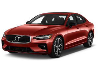 2021 Volvo S60 T6 AWD R-Design Angular Front Exterior View