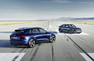 2022 Audi E-Tron S SUV and Sportback