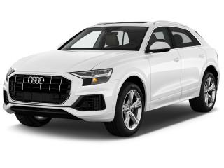 2022 Audi Q8 Premium Plus 55 TFSI quattro Angular Front Exterior View