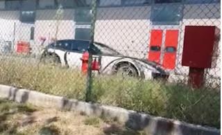 2022 Ferrari Purosangue test mule spy shots
