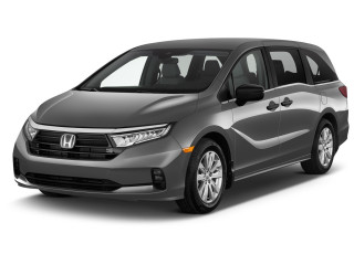 2022 Honda Odyssey LX Auto Angular Front Exterior View