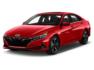 2022 Hyundai Elantra SEL IVT Angular Front Exterior View
