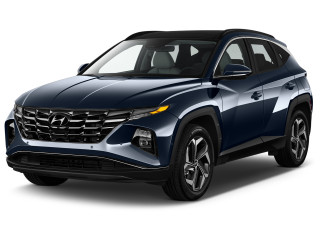 2022 Hyundai Tucson Limited AWD Angular Front Exterior View