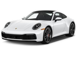 2022 Porsche 911 Carrera S Coupe Angular Front Exterior View