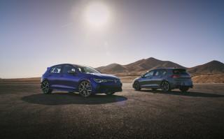 2022 Volkswagen Golf R and Golf GTI