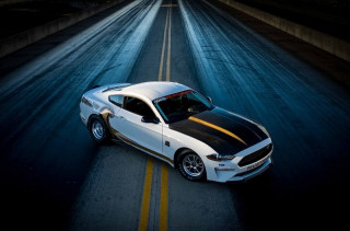 50th anniversary Ford Mustang Cobra Jet rips into SEMA show