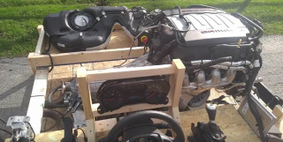 A Chevy crate engine that works in the crate