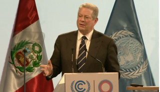 Al Gore at United Nations conference