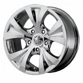 Alba chrome wheel