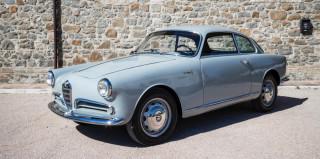 1956 Alfa Romeo Giulietta Sprint Bertone